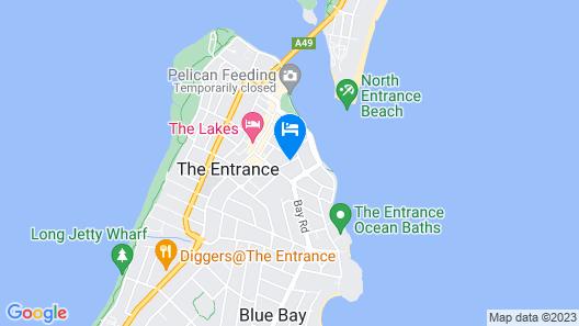 Sandy Cove Apartments Map