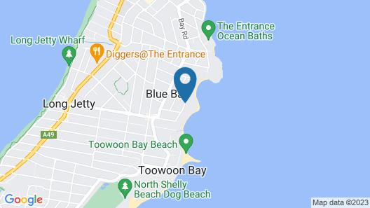 Al Mare Beachfront Retreat Map