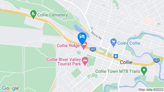 Collie Ridge Motel Map