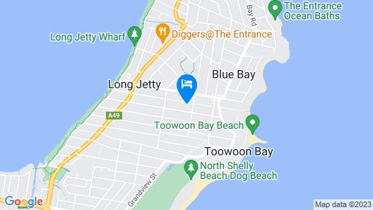 Blue Summer House Map
