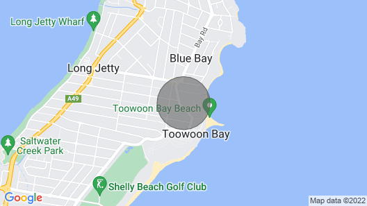 By The Bay Hideaway - Toowoon Bay Map