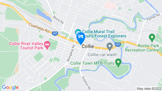 The Colliefields Map