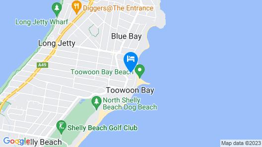 Kims Beachside Retreat Map