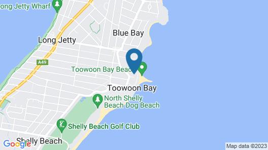 Stunning Toowoon Bay on Charlton Map