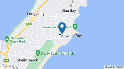 Toowoon Bay Holiday Park Map