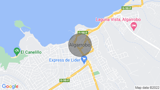 Departamento Meza San Alfonso del Mar Map