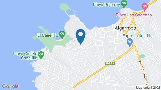 Pinares del Canelillo Map
