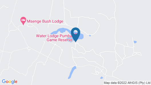 Pumba Private Game Reserve Map