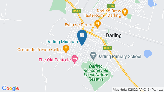 Darling Lodge Guest House  Map