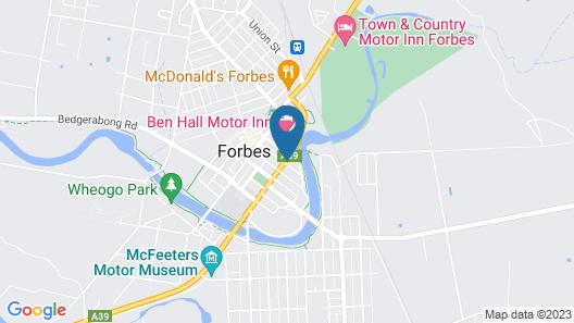Forbes Victoria Inn Map
