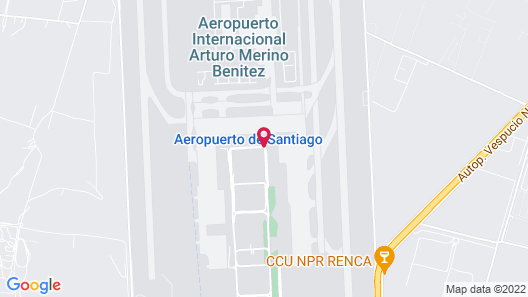 Holiday Inn Santiago - Airport Terminal Map
