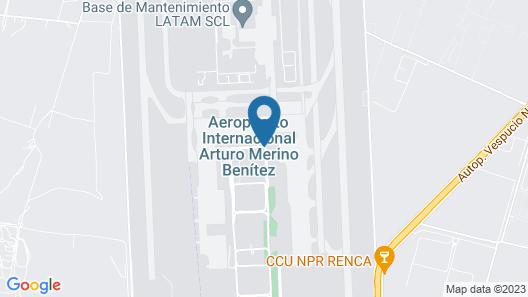 Holiday Inn Santiago - Airport Terminal Map