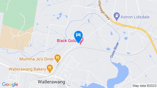 Black Gold Motel Map