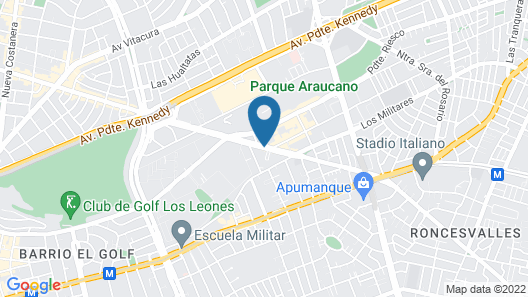 Novotel Santiago Las Condes (ex Atton) Map