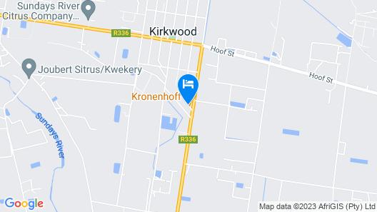 Kronenhoff Guest House Map