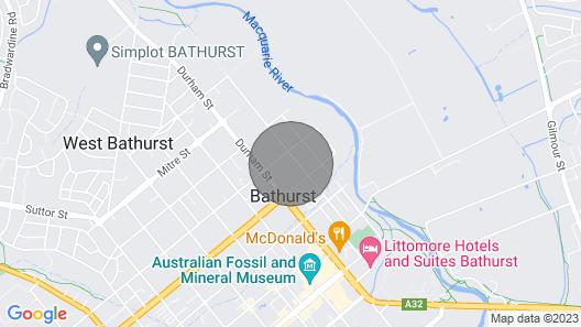 88 Morrisset St Bathurst Map