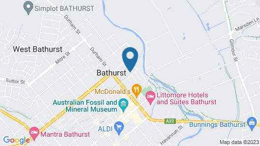 Alloggio Bathurst (Bathurst Apartments) Map