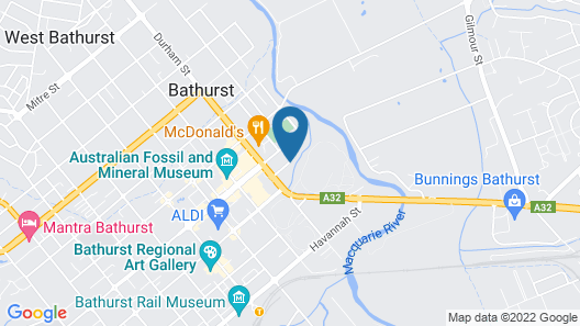 Littomore Bathurst Map