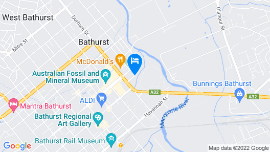 Littomore Bathurst Map