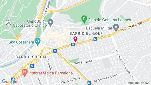 The Ritz-Carlton, Santiago Map