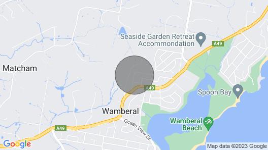 Wamberal Beach House - Million Dollar Views Map