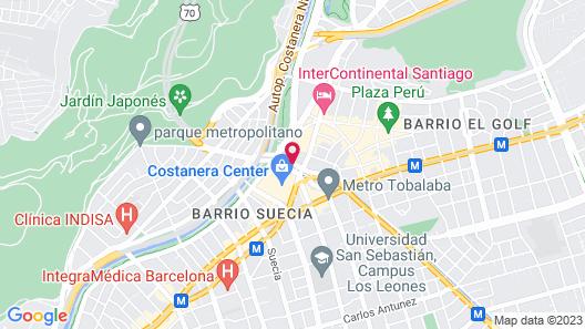 NH Collection Plaza Santiago Map