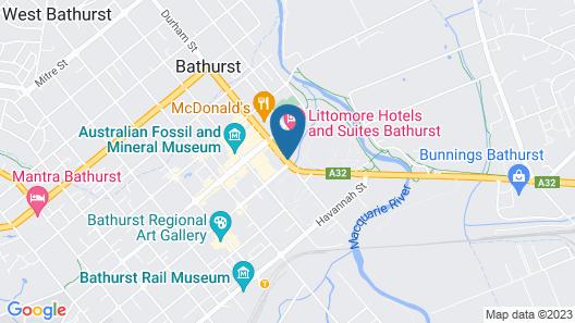 Panorama Bathurst Map