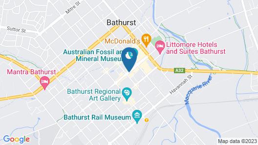 Bathurst Royal Apartments Map