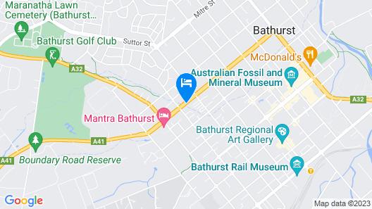 Ben Chifley Motor Inn Map