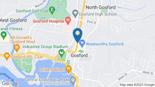 Hotel Gosford Map