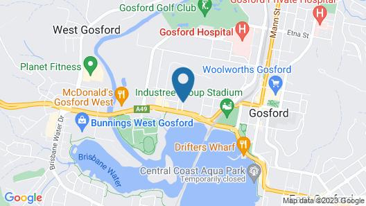 Gosford Palms Motor Inn Map