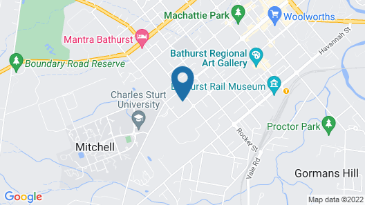 Bathurst Heights Bed and Breakfast Map