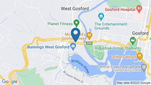 The Ashwood Motel Map