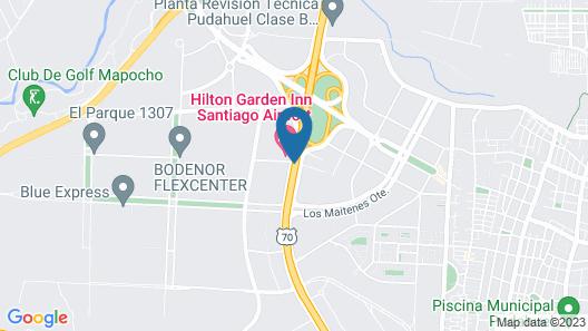 City Express Santiago Aeropuerto Map