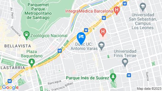 Tagle Hotel Boutique Map