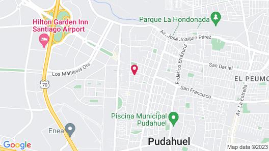 Hospedaje Pudahuel Map