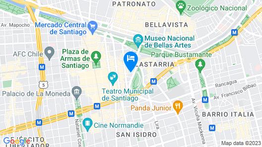 Plaza Suites Map