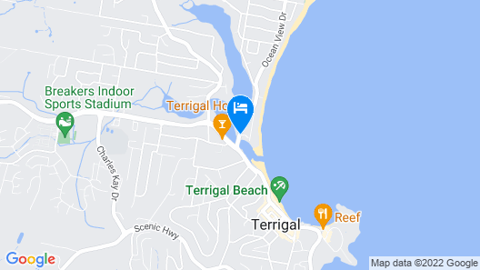 The Clan Terrigal Map