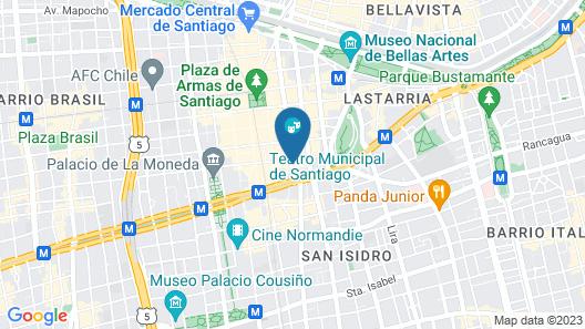 Almacruz Hotel y Centro de Convenciones (Ex Galerías) Map