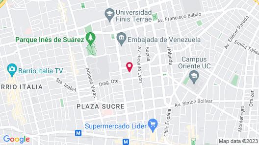 Hotel L'Ambassade Map