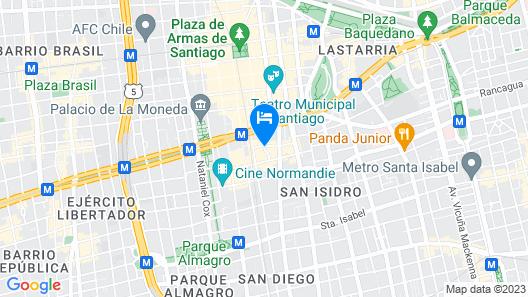 Hotel Paris Londres Map