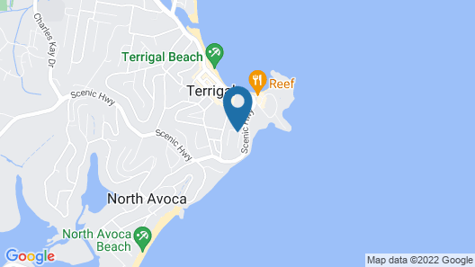 Tiarri Terrigal Map