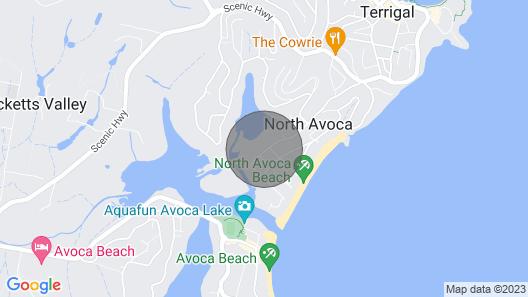 North Avoca Beach Flat Map