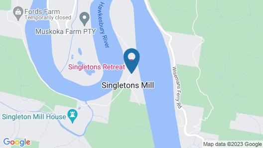 Singletons Retreat Map