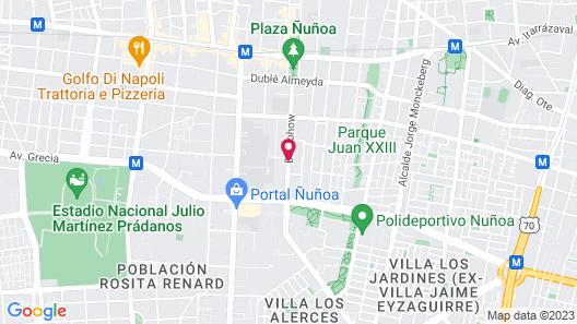 Casa Muriel Map