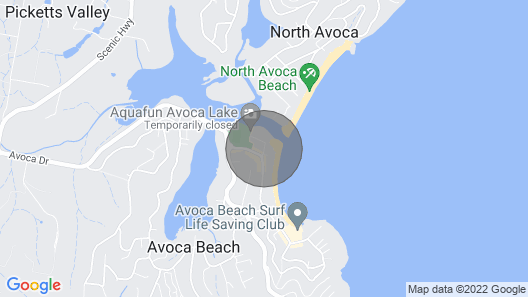 Sandy Corner - Beach / Lakefront Map