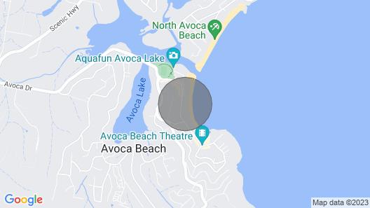 Beachside Bungalow #4 - 4/139 Avoca Drive Map