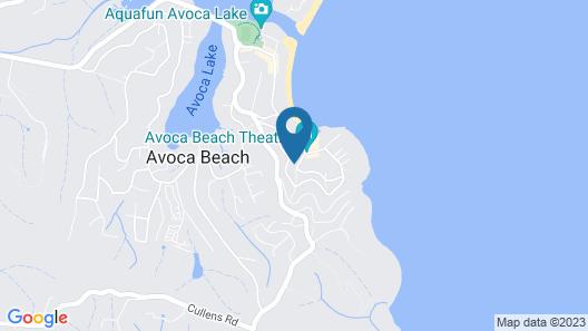 Avoca Beach Living - 84 Avoca Drive Map