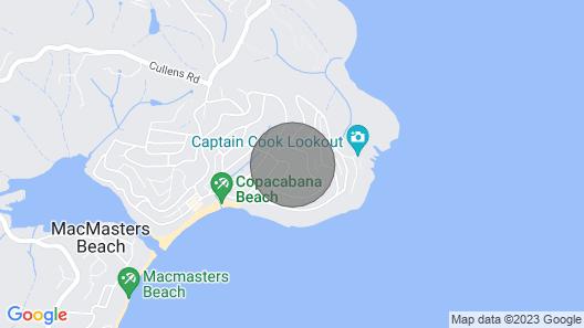 Copa Capri-Architecturally Designed Home, By the Beach Map