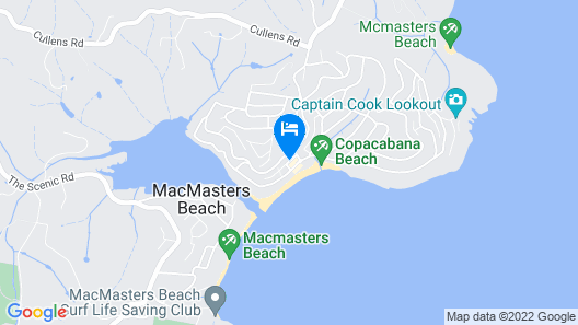 Copacabana Shores Map